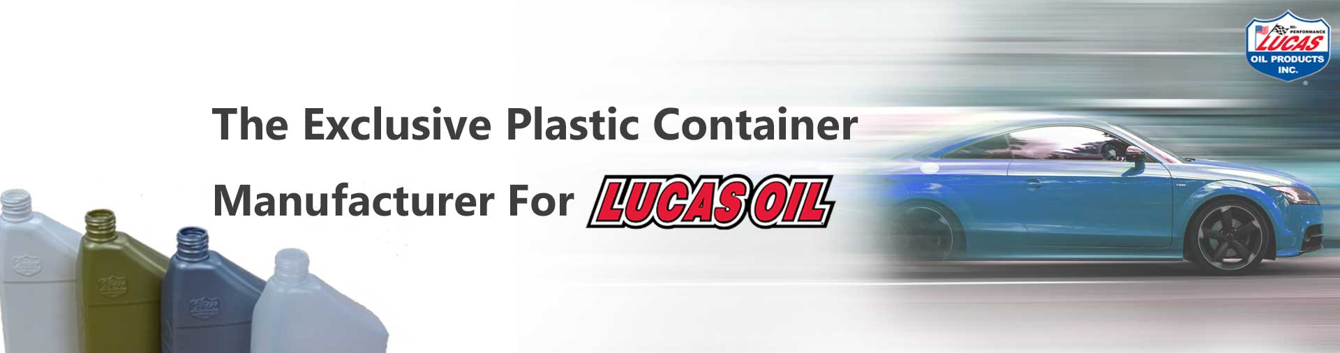 The Exclusive Plastic Container  Manufacturer For Lucas Oil